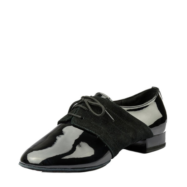 Men's Ballroom Real Leather Patent Leather Modern