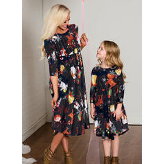 Mommy and Me Santa Matching Dresses