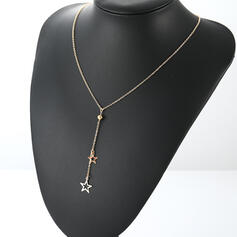 Charming Alloy With Star Necklaces