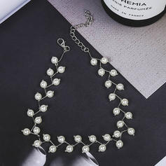Exquisite Alloy Imitation Pearls With Imitation Pearl Women's Fashion Necklace (Sold in a single piece)
