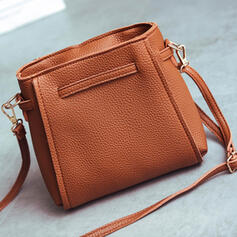 Lichee Pattern/Solid Color/Bohemian Style/Multi-functional/Super Convenient Clutches/Crossbody Bags/Shoulder Bags/Bag Sets/Hobo Bags