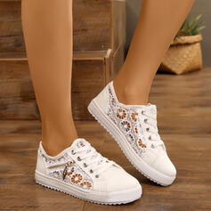 Women's Cloth Mesh Sneakers Low Top Sneakers shoes