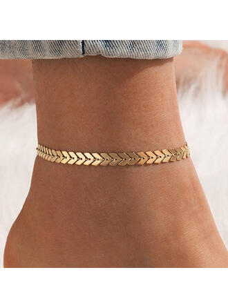 Simple Alloy With Arrow Women's Ladies' Anklets