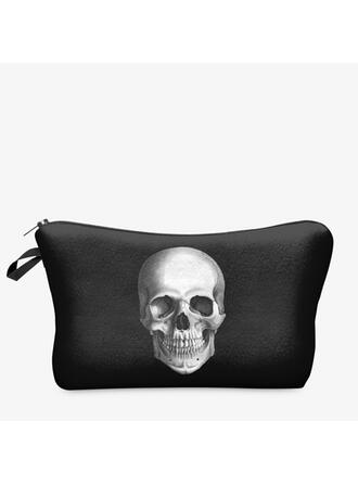 Simple/Super Convenient/Halloween/Skull/Puffy Storage Bag/Makeup Bag